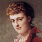 A portrait of Edith Wharton
