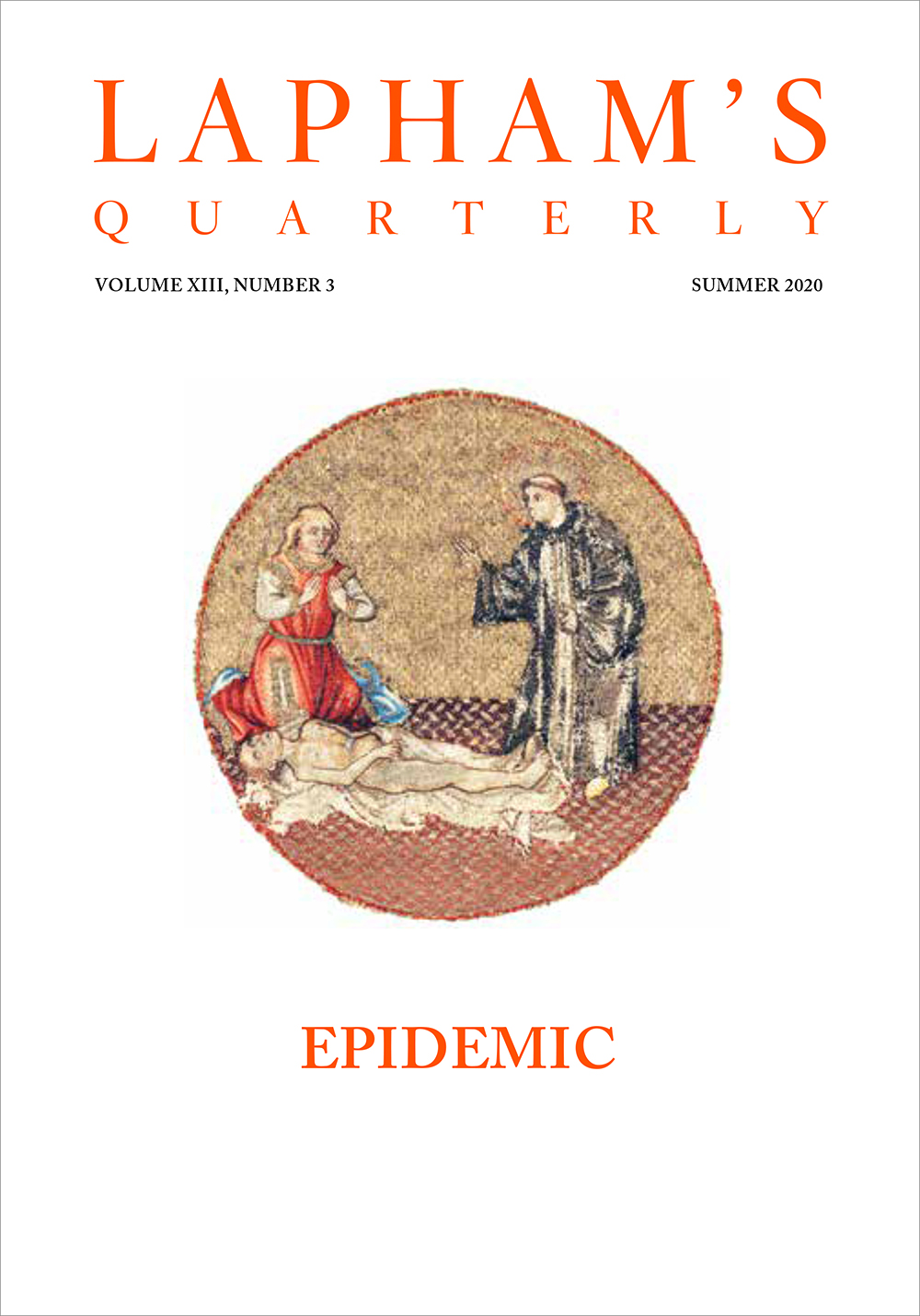 Cover of Epidemic, the new issue of Lapham's Quarterly.