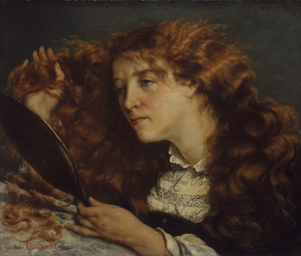 Jo, La Belle Irlandaise, by Gustave Courbet, c. 1865. The Metropolitan Museum of Art, H.O. Havemeyer Collection, Bequest of Mrs. H.O. Havemeyer, 1929.
