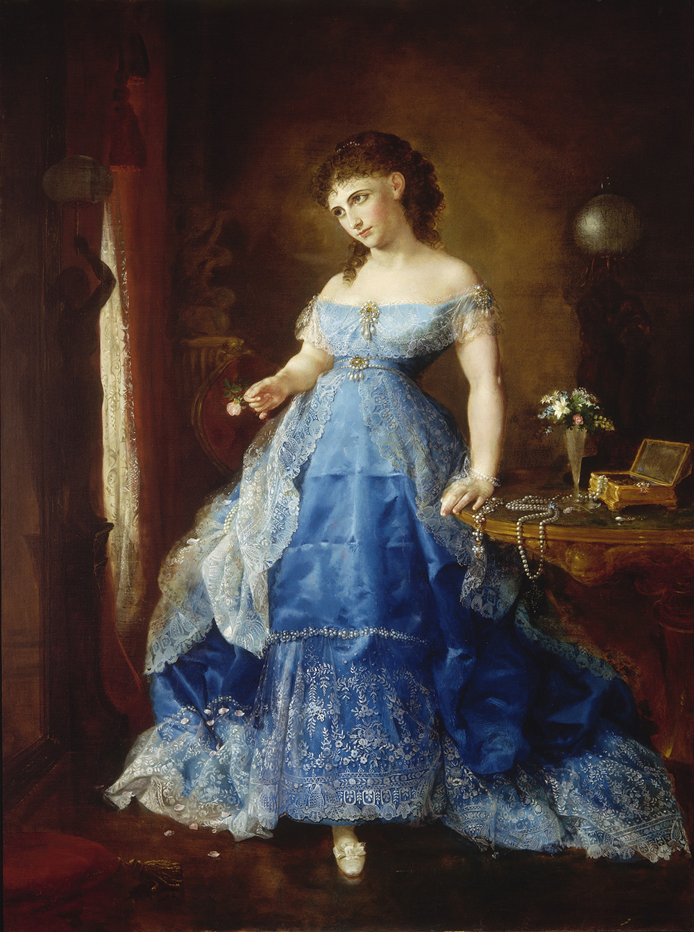 We Both Must Fade (Mrs. Fithian), by Lilly Martin Spencer, 1869. Smithsonian American Art Museum.