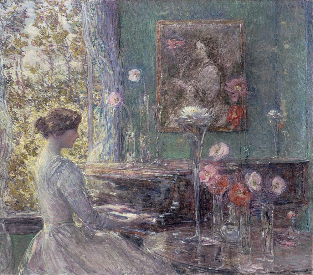 Improvisation, by Childe Hassam, 1899. Smithsonian American Art Museum, Gift of John Gellatly.
