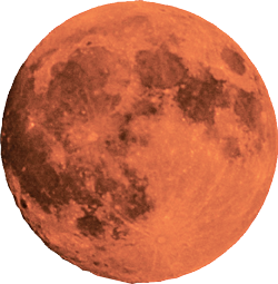 A red moon.