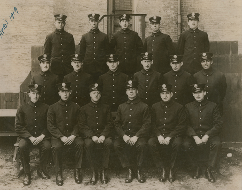 New York City Fire Department group portrait, c. 1919. Schomburg Center for Research in Black Culture, Photographs and Prints Division, Wesley Williams photograph collection.