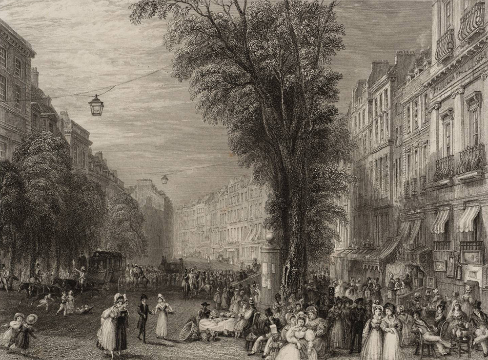 Boulevards, Paris, after Joseph Mallord William Turner, 1835. Photograph © Tate (CC-BY-NC-ND 3.0).