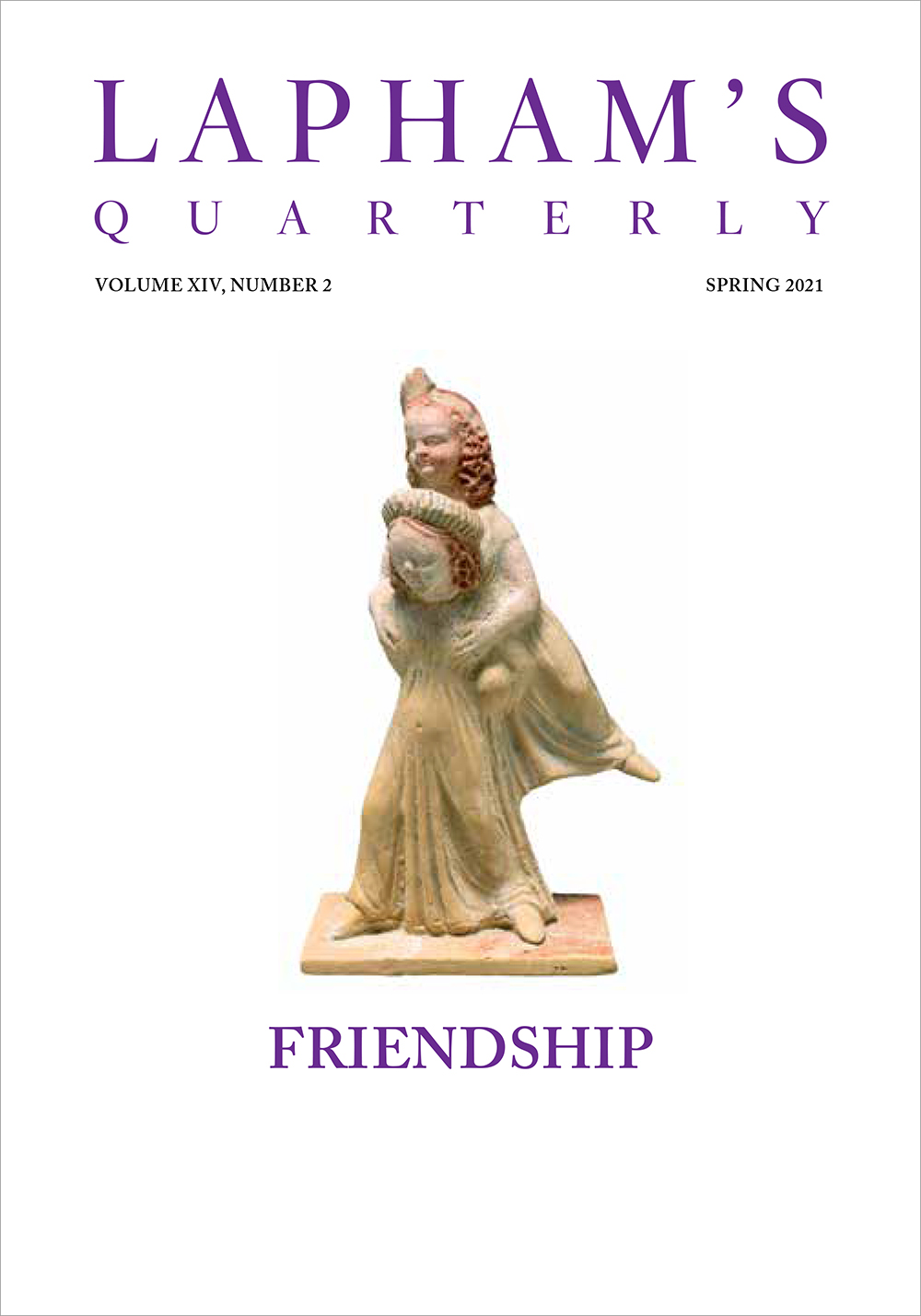 Cover of Friendship issue of Lapham's Quarterly