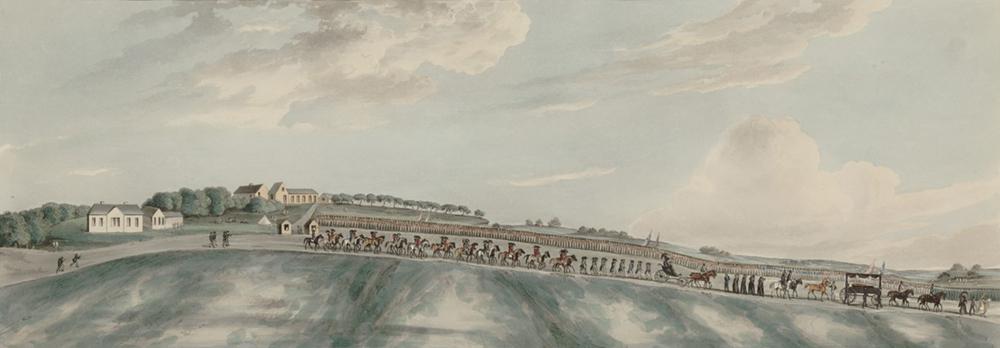 The Funeral Procession of Bonaparte, by Frederick Maryat, 1821. Bibliothèque nationale de France.
