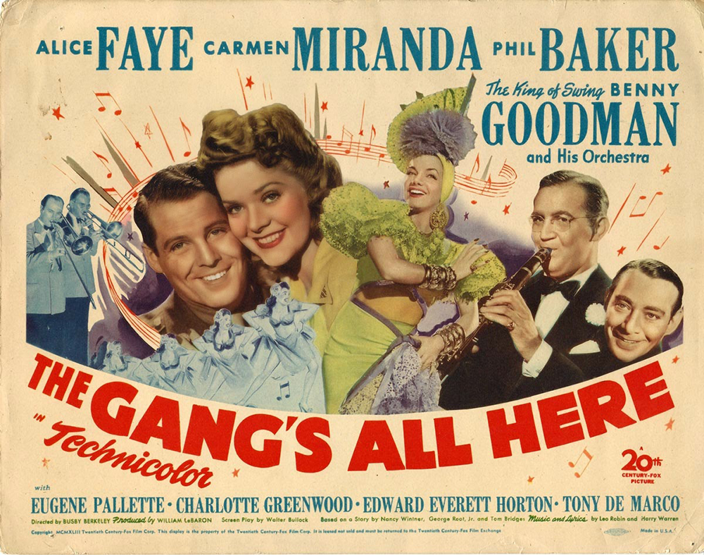 """The Gang's All Here"" (1941)."