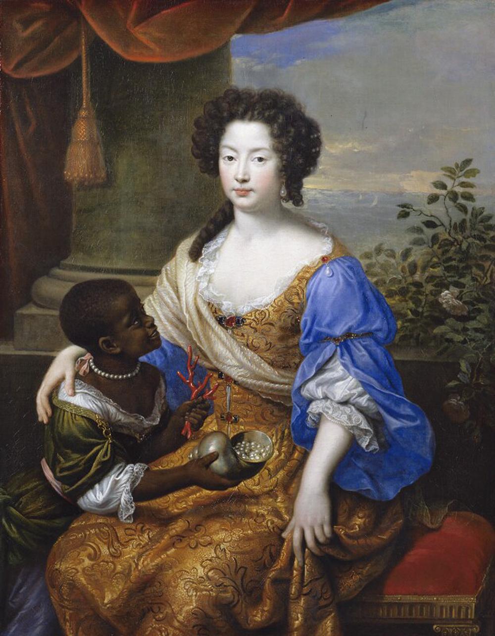 Louise-Renée de Kéroualle, Duchess of Portsmouth, by Pierre Mignard, 1682. © National Portrait Gallery, London.