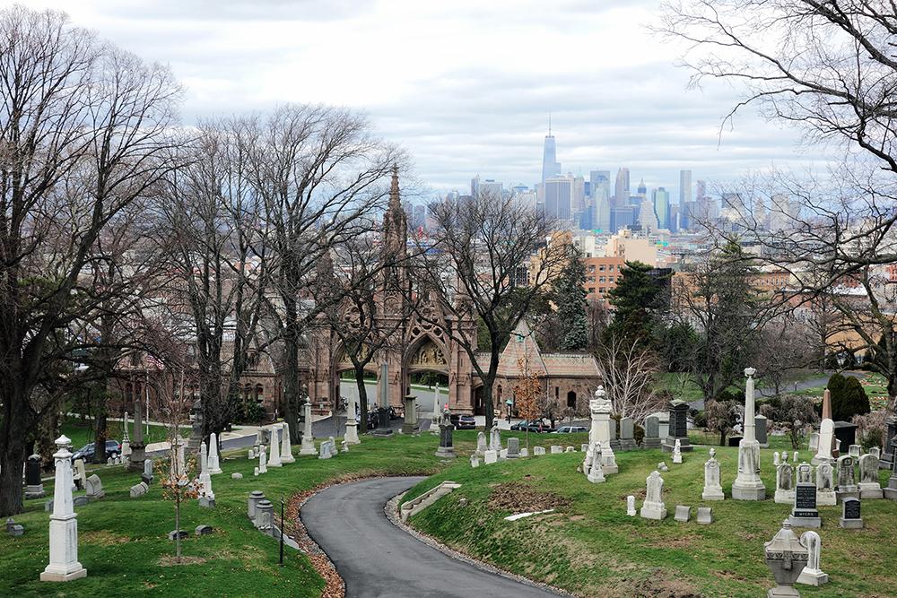 Green-Wood Cemetery in Brooklyn, 2016. Photograph by Allison C. Meier.