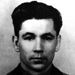 A black and white photograph of Grigori Nelyubov.