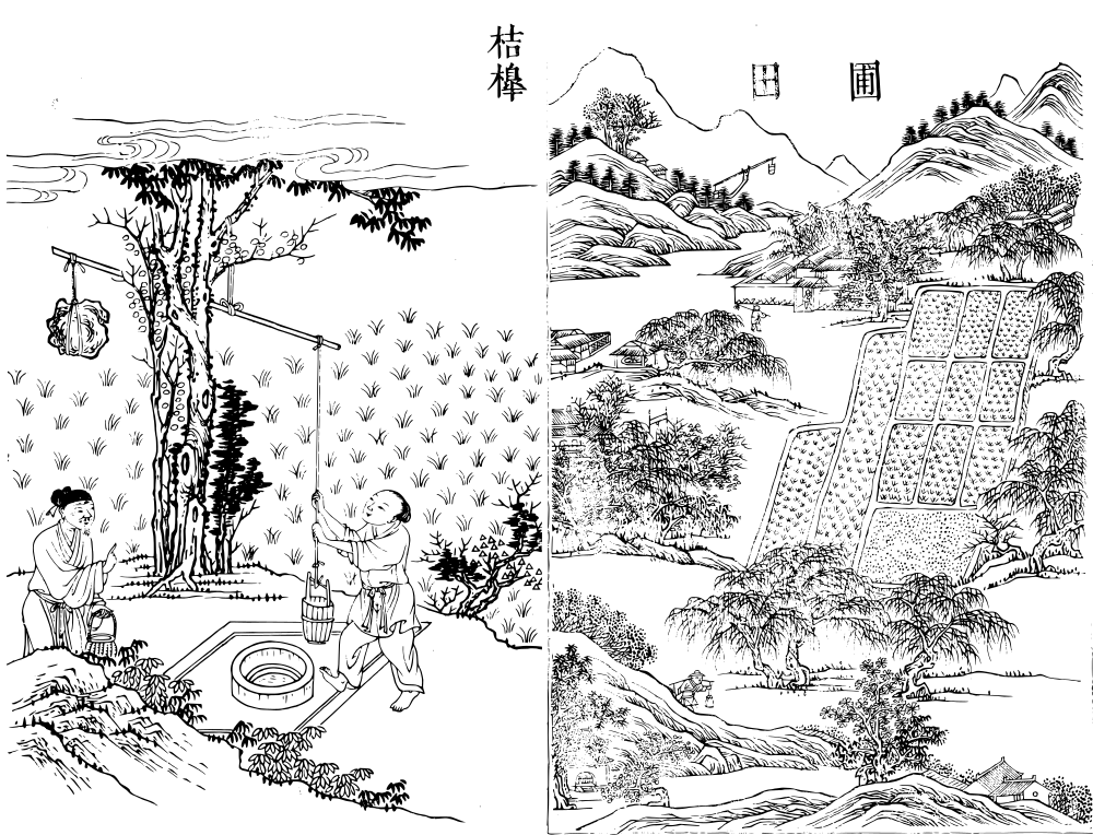 Illustrations from the Gujin Tushu Jicheng.