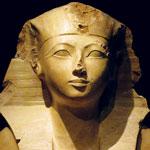 A statue of Hatshepsut