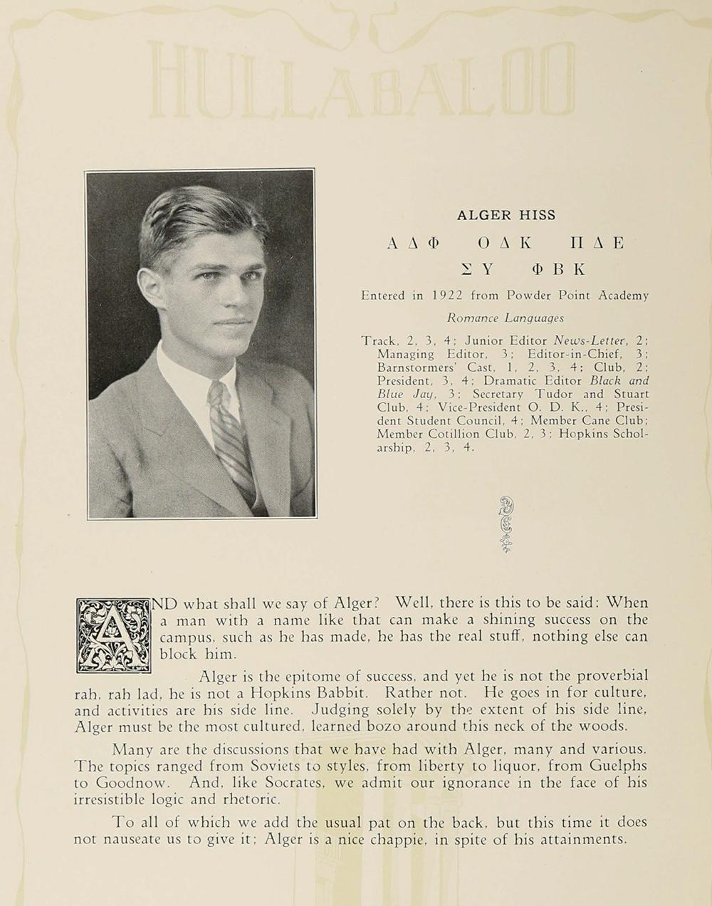 The Johns Hopkins Hullabaloo, 1926. Ferdinand Hamburger Archives, Sheridan Libraries, Johns Hopkins University.