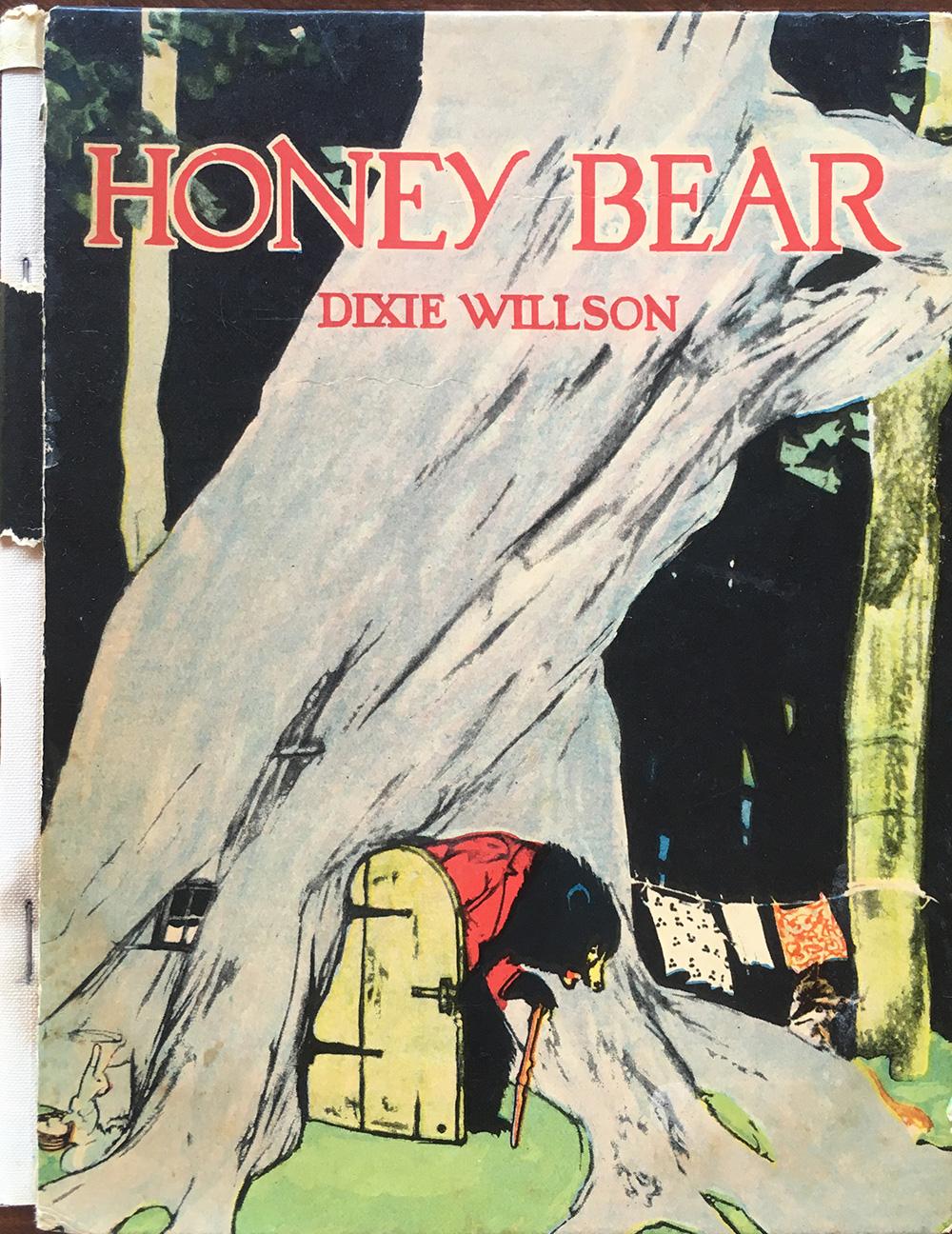 """The author's family copy of """"Honey Bear."""" Courtesy of Willy Blackmore."""