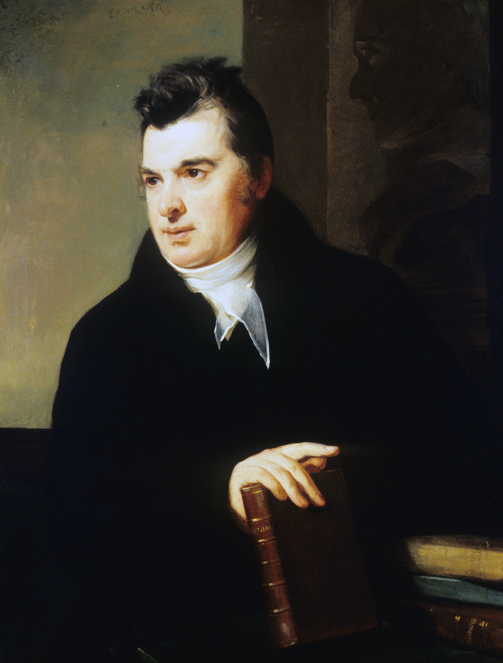 Portrait of David Hosack, MD, by Thomas Sully, 1815. Courtesy of Winterthur Museum, Philadelphia, PA, Gift of Mr. J. Hampton Barnes, Jr.