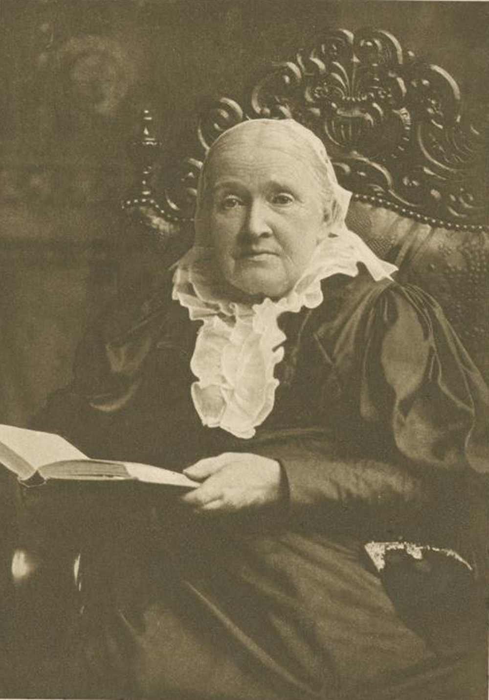 Julia Ward Howe. The New York Public Library, The Miriam and Ira D. Wallach Division of Art, Prints and Photographs.