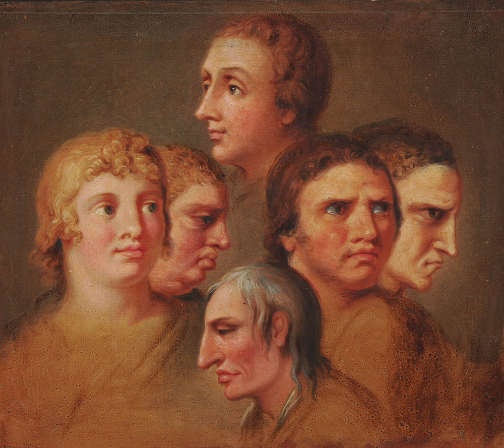 The Four Humours, by Wilhelm Tischbein, c. 1782. © The Trustees of the British Museum.