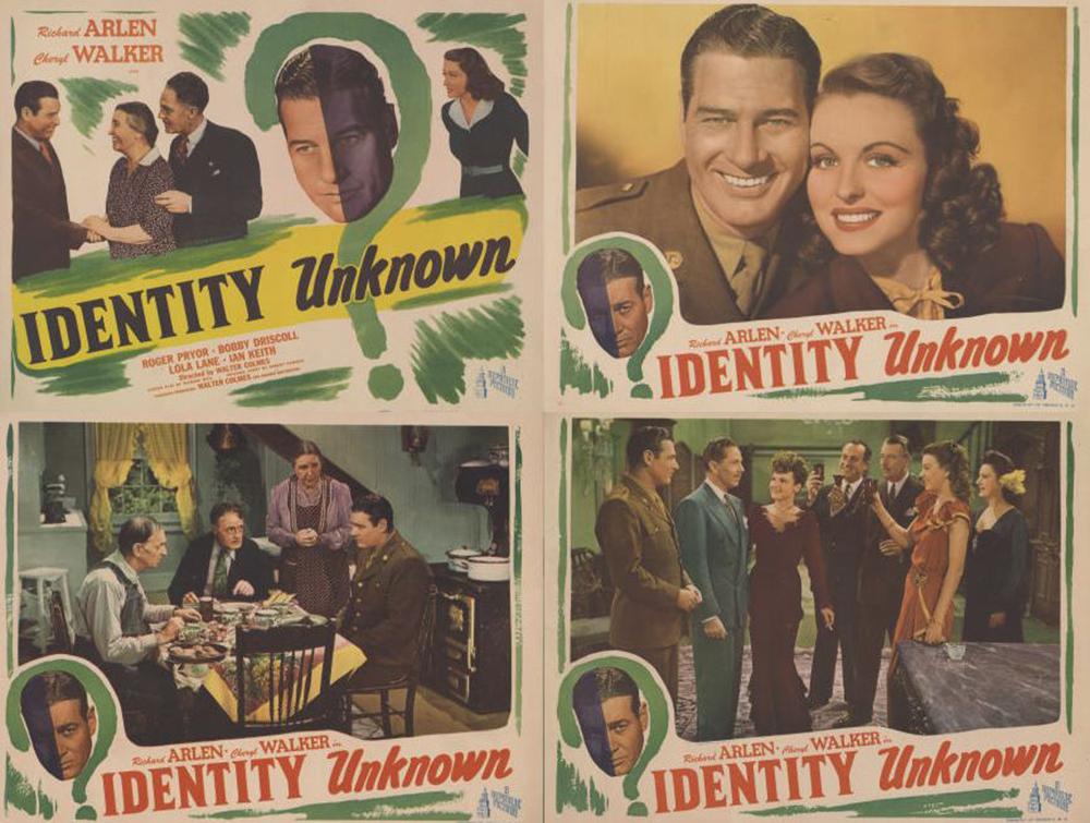 """Identity Unknown"" (1945)."