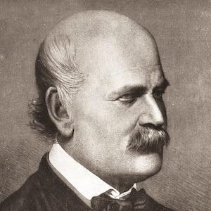 A portrait of Ignaz Semmelweis