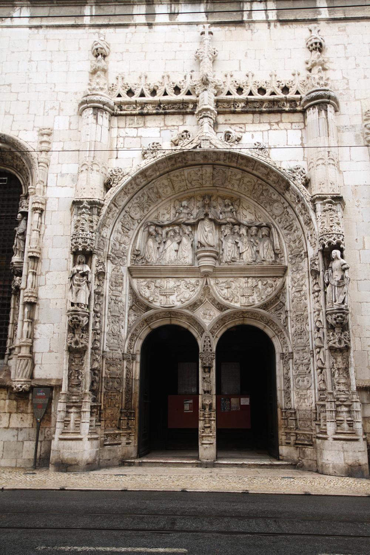 The Igreja da Conceição, Lisbon, 2013. Photograph © José Luiz Bernardes Ribeiro (CC BY-SA 3.0). Wikimedia Commons.
