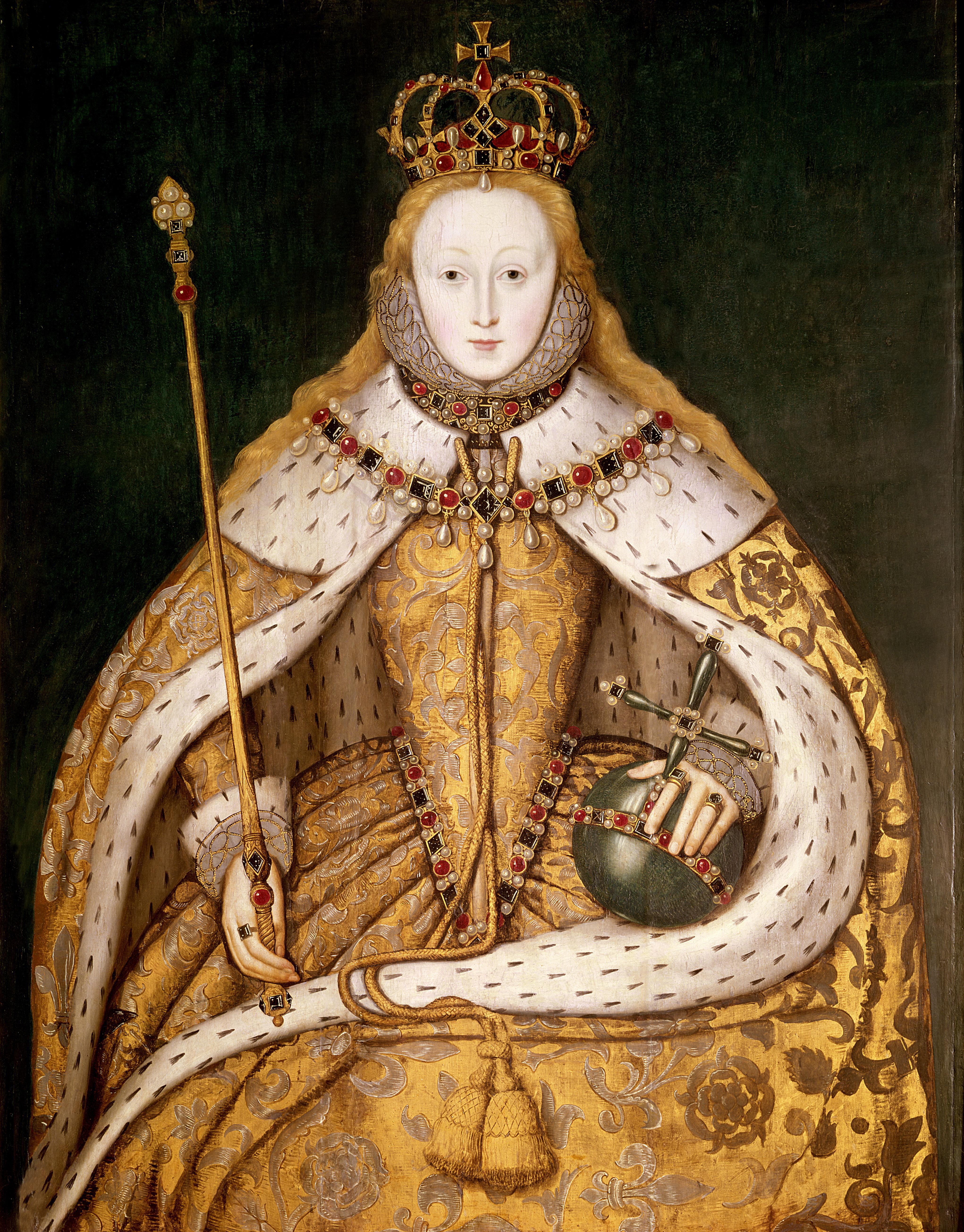 Queen Elizabeth I, c. 1600.