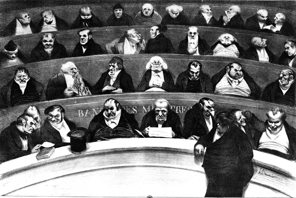 The Legislative Belly, by Honoré Daumier, 1834. The Metropolitan Museum of Art, Rogers Fund, 1920,