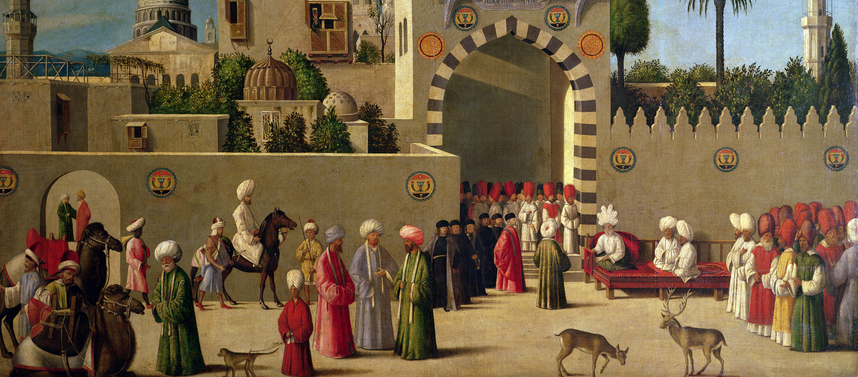 Reception of a Venetian Delegation in Damascus in 1511