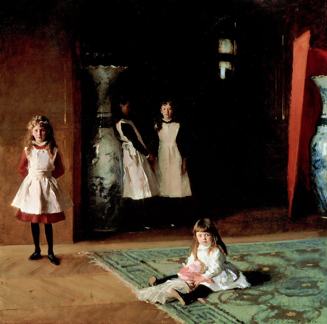 The Daughters of Edward Darley Boit, by John Singer Sargent, 1882. Museum of Fine Arts, Boston, Massachusetts.