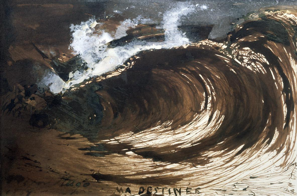 My Destiny, by Victor Hugo, 1867.