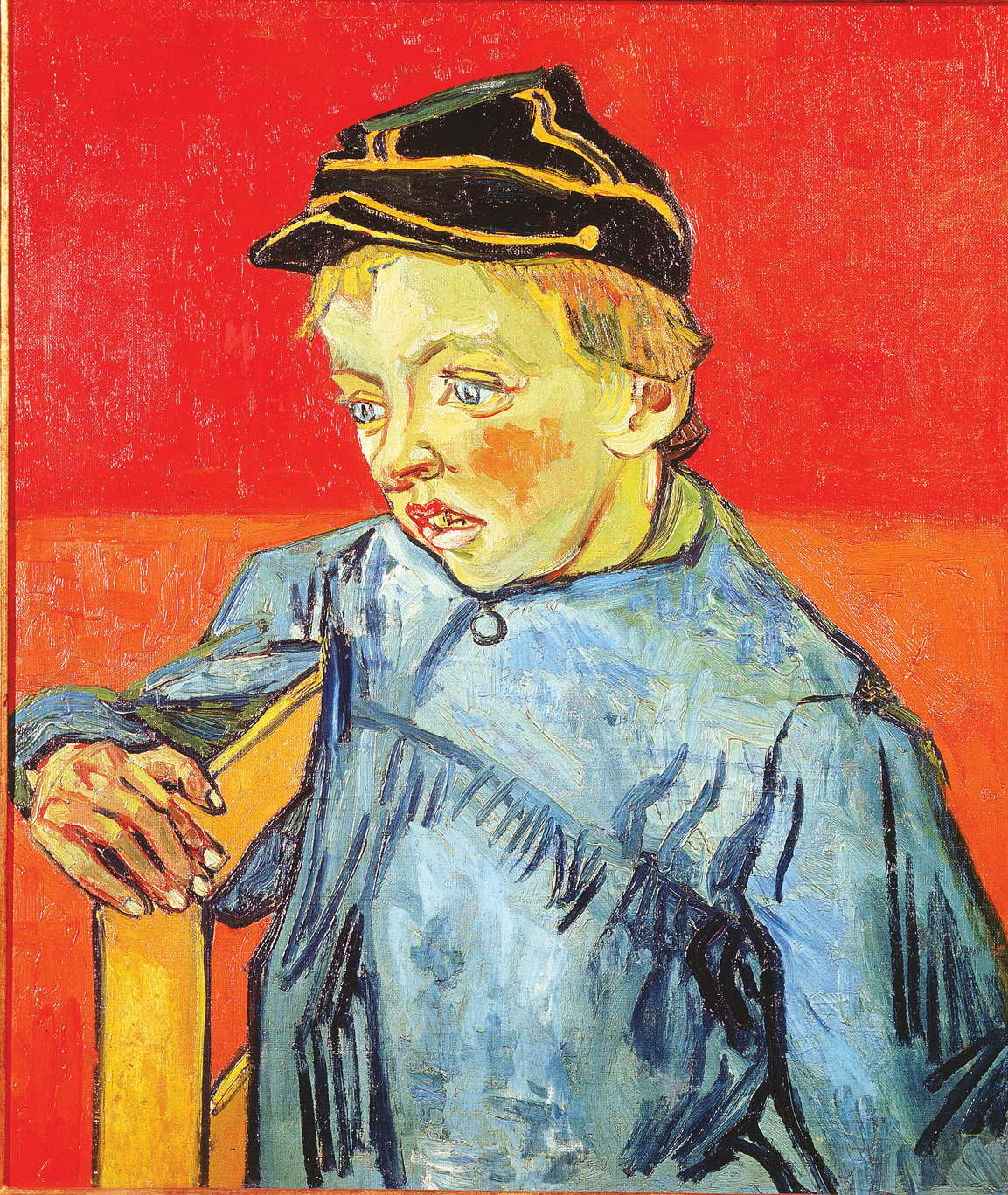 The Schoolboy (Camille Roulin), by Vincent van Gogh, 1888. São Paulo Museum of Art, São Paulo, Brazil.