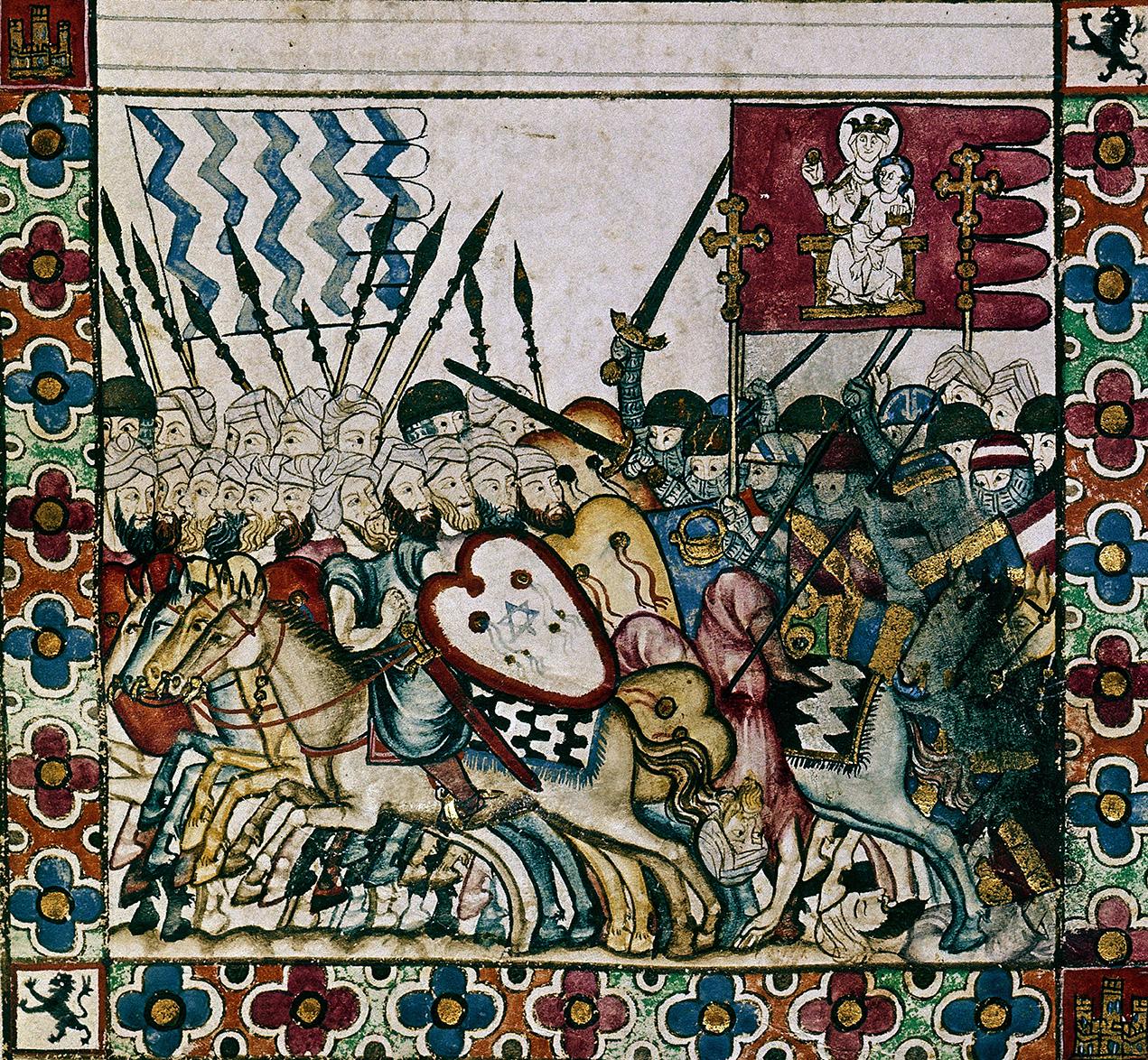 Moroccan army of Caliph Umar al-Murtada