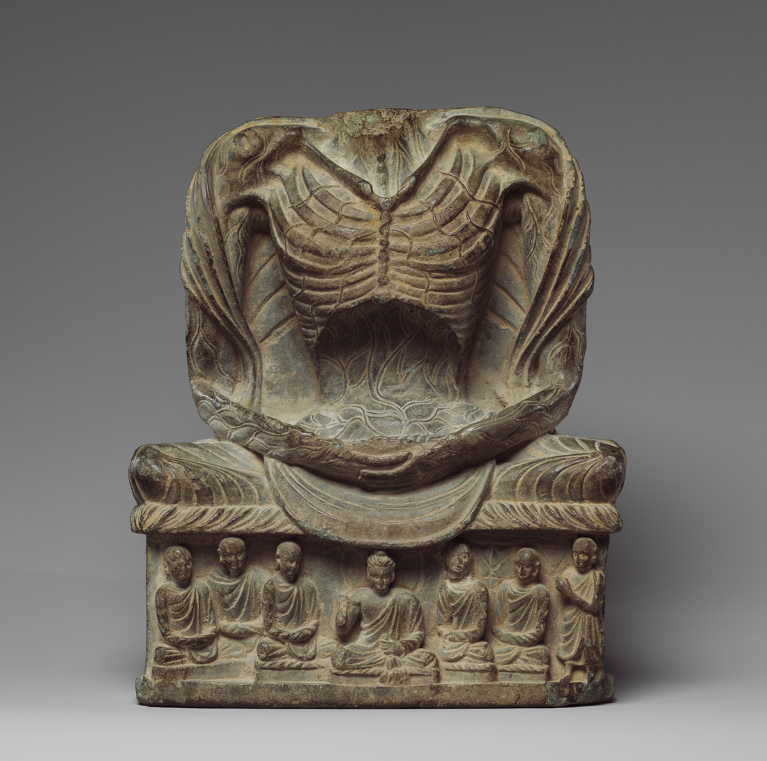 Fasting Siddhartha, Pakistan, c. third century. The Metropolitan Museum of Art,