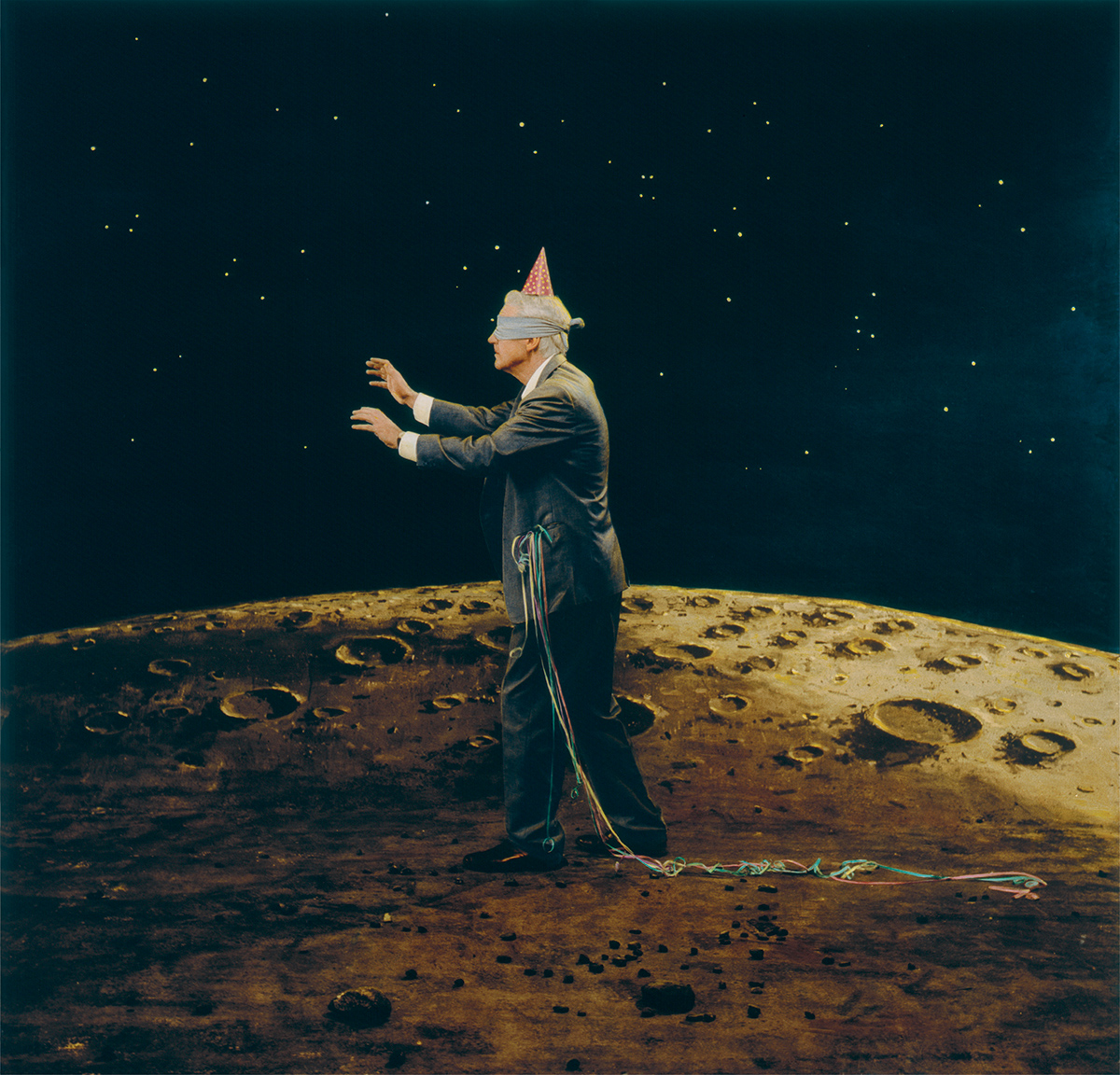 Untitled (on moon), by Teun Hocks, 2007.