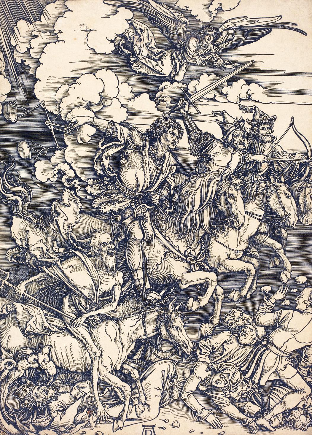 Four Horsemen of the Apocalypse, by Albrecht Dürer, 1498. National Gallery of Art, Washington D.C.
