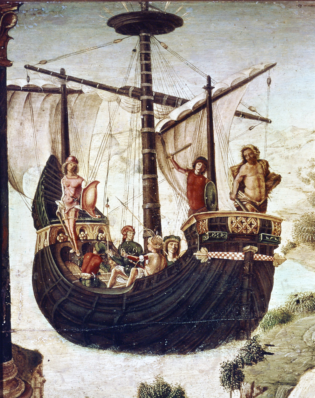 The Argonauts, by Lorenzo Costa, c. 1488. Museo Civico, Padua, Italy.