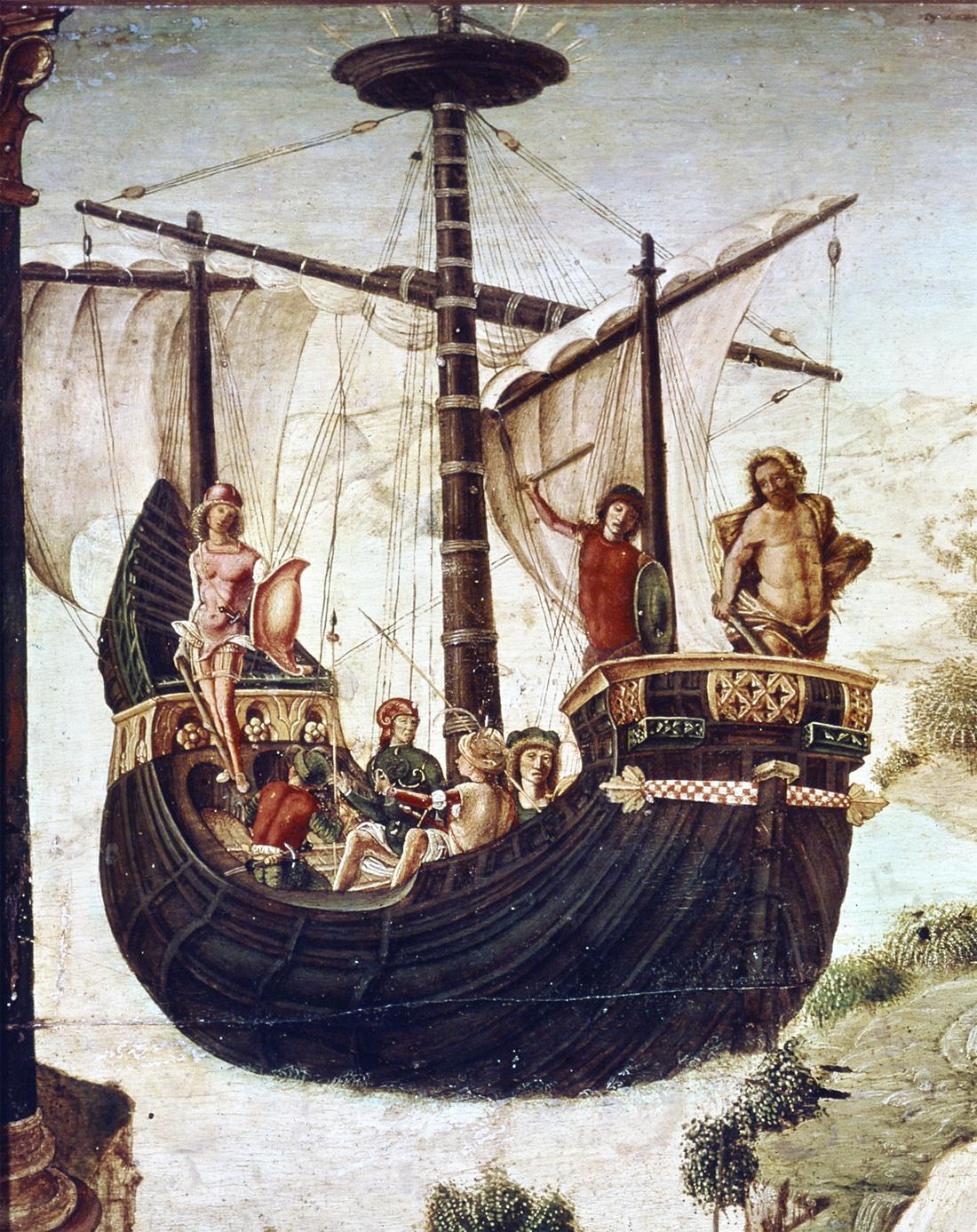 The Argonauts, by Lorenzo Costa, c. 1488. Museo Civico, Padua, Italy.