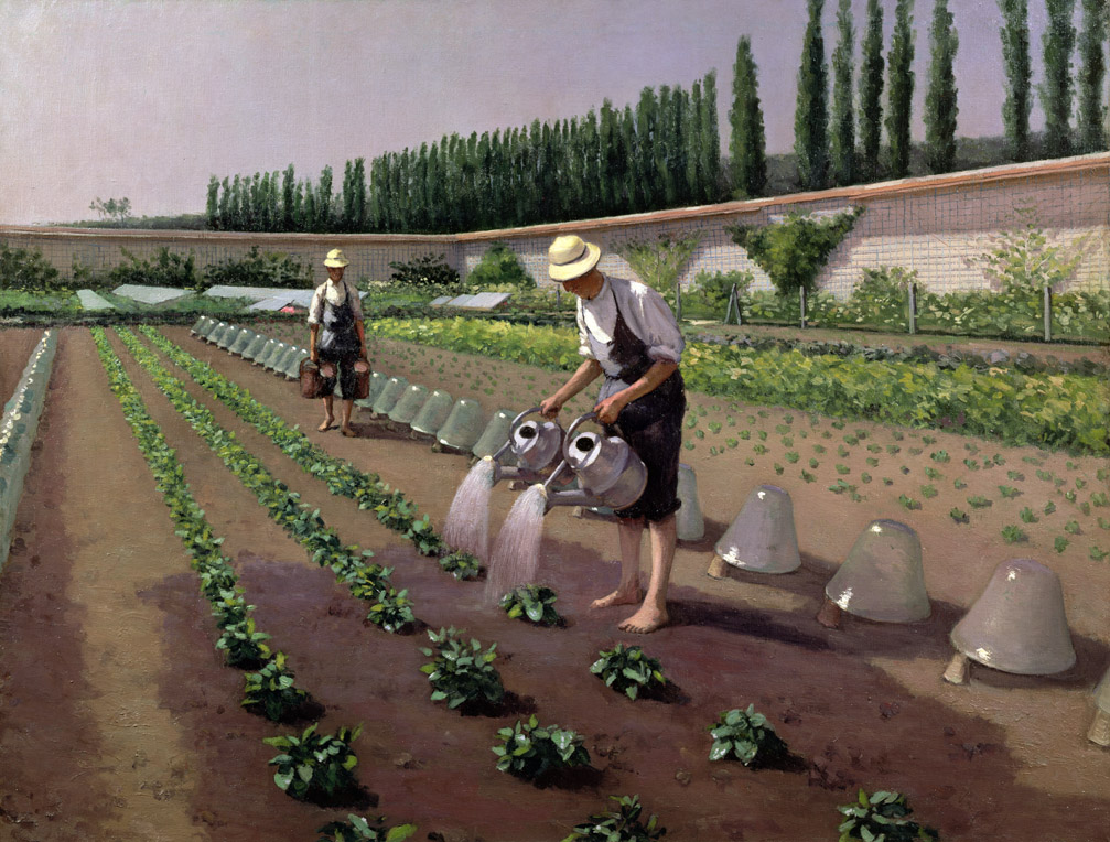 The Gardeners, by Gustave Caillebotte, c. 1877.