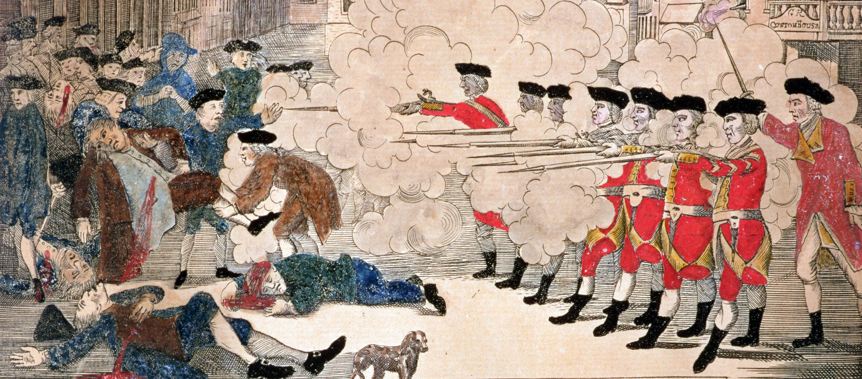 politics the bloody massacre lapham s quarterly the bloody massacre an engraving of the boston massacre by paul revere 1770