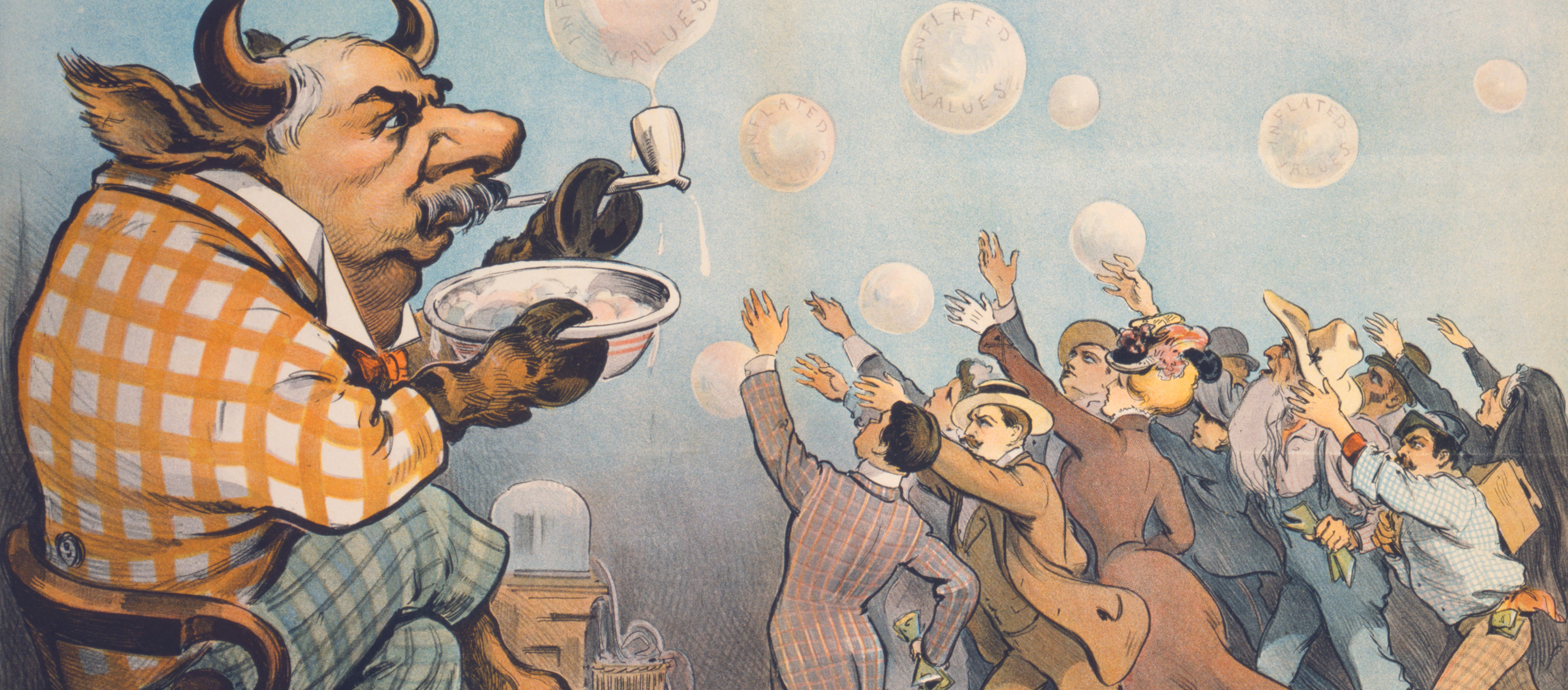 Wall Street Bubbles—Always the Same, by Joseph Keppler Jr., 1901.