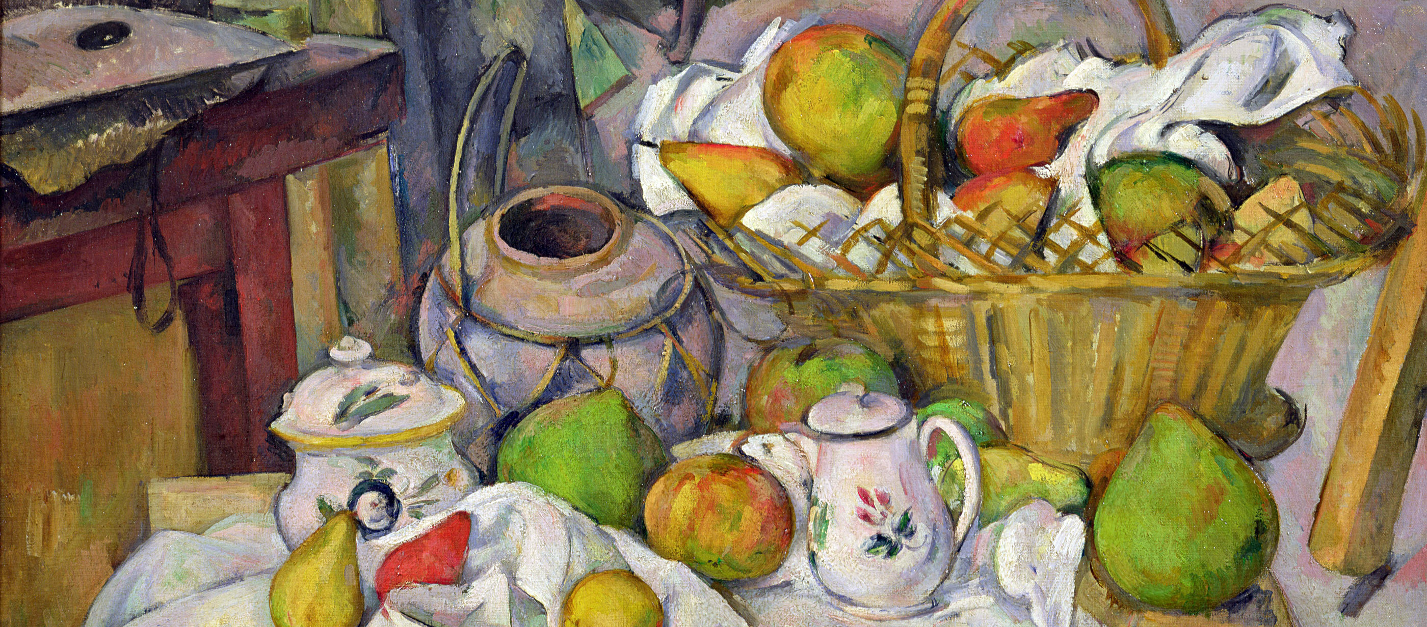 The Kitchen Table, by Paul Cézanne, c. 1889. Musée d'Orsay, Paris..