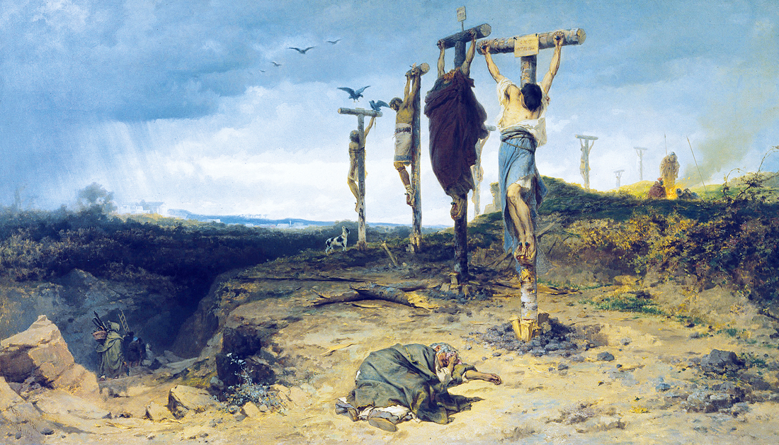 The Damned Field, by Fyodor Andreevich Bronnikov, 1878. Tretyakov Gallery, Moscow, Russia.