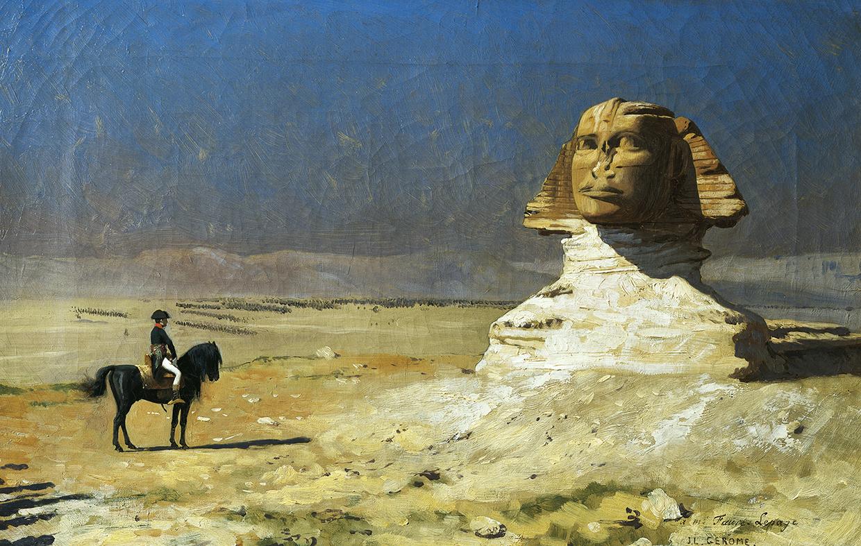 General Bonaparte in Egypt, by Jean-Léon Gérôme, 1867.