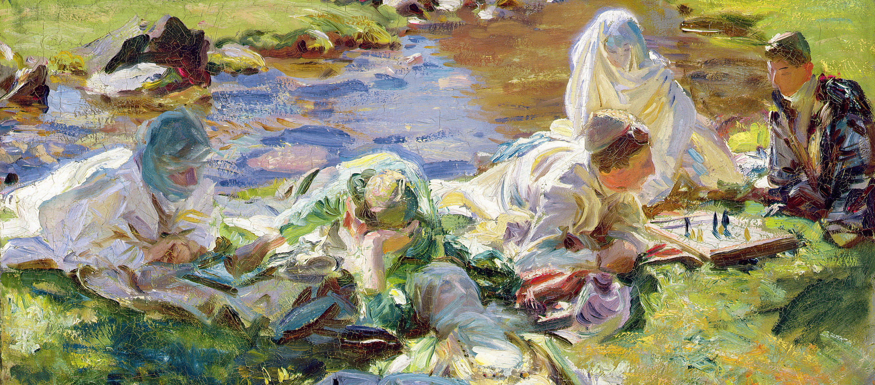 Dolce Far Niente, by John Singer Sargent, c. 1907. Brooklyn Museum, New York.