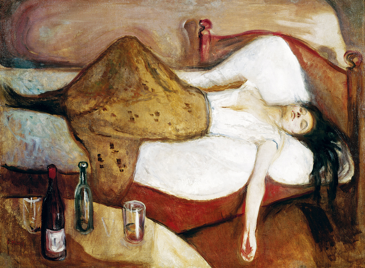 The Day After, by Edvard Munch, 1886. National Gallery, Oslo, Norway.