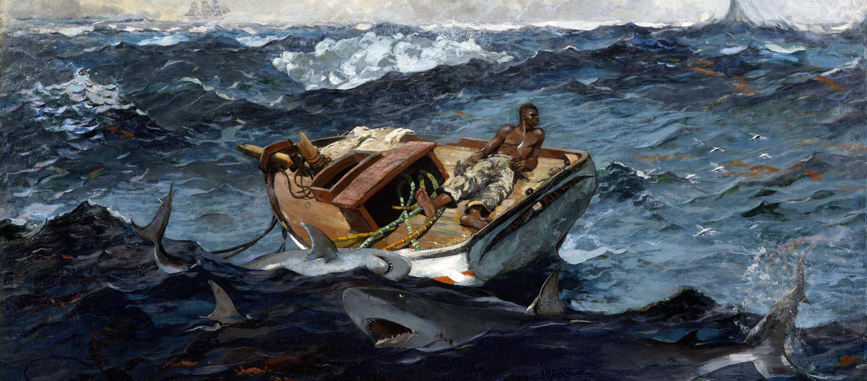 The Gulf Stream, by Winslow Homer, 1899.
