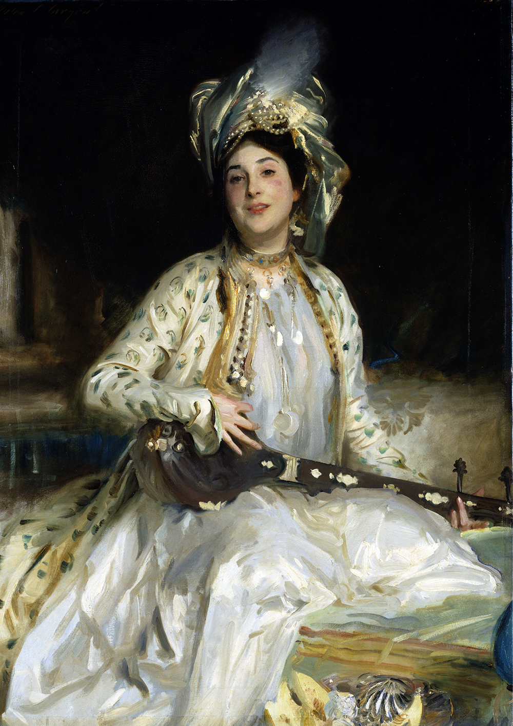 Almina, Daughter of Asher Wertheimer, by John Singer Sargent, 1908. Tate, London.