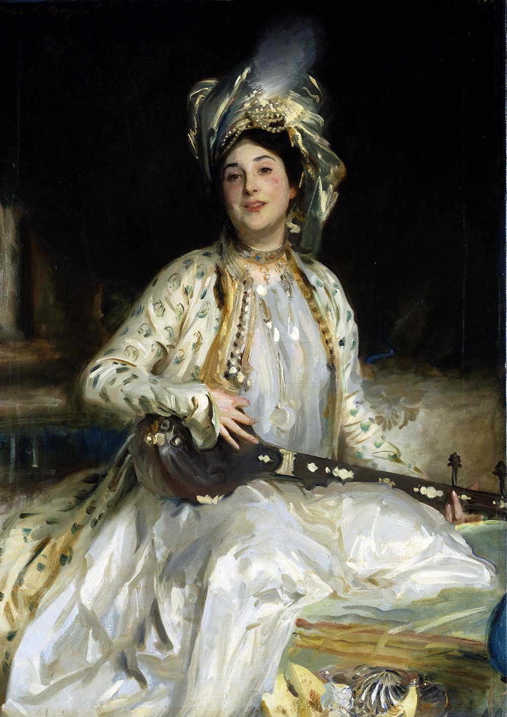 Almina, Daughter of Asher Wertheimer, by John Singer Sargent, 1908. Tate, London.