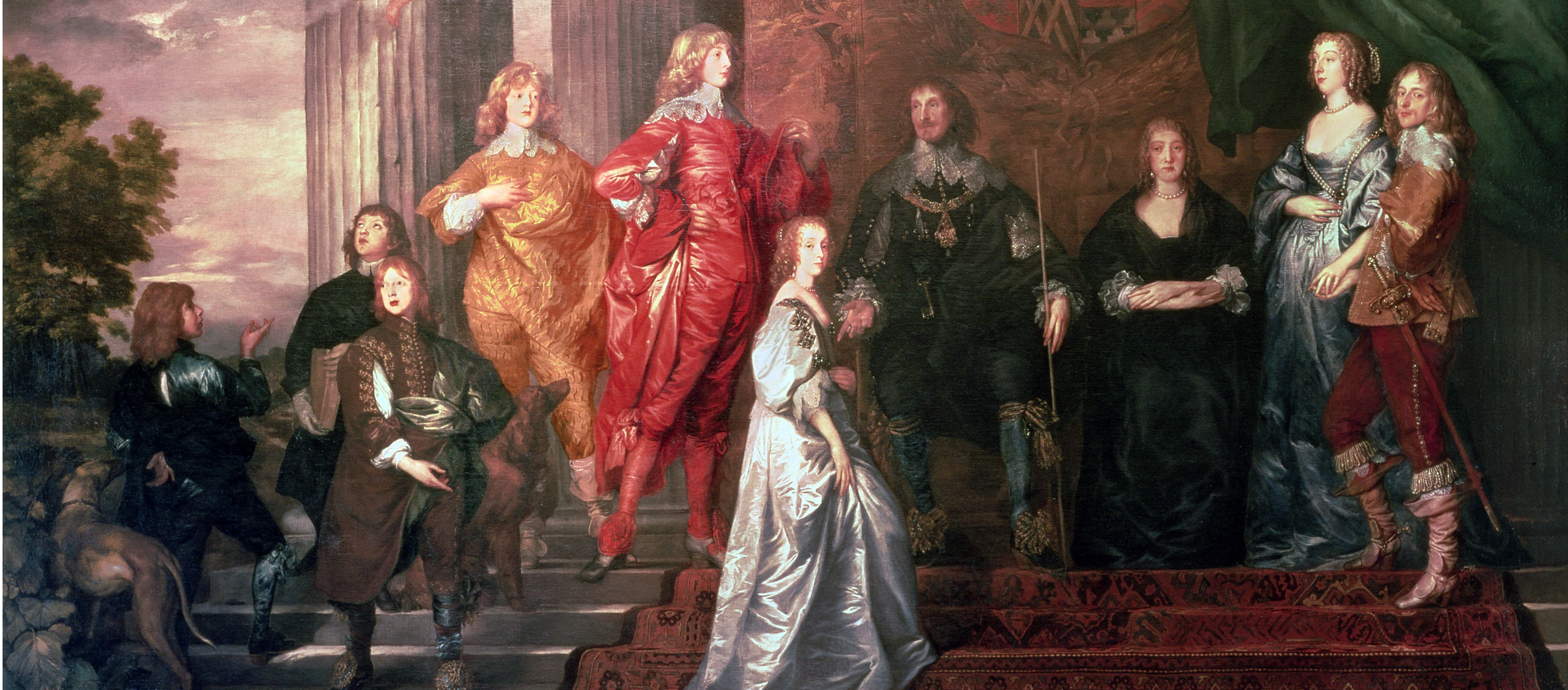 Philip Herbert, Fourth Earl of Pembroke, and His Family, by Sir Anthony van Dyck, c. 1635. The Earl of Pembroke's Collection.