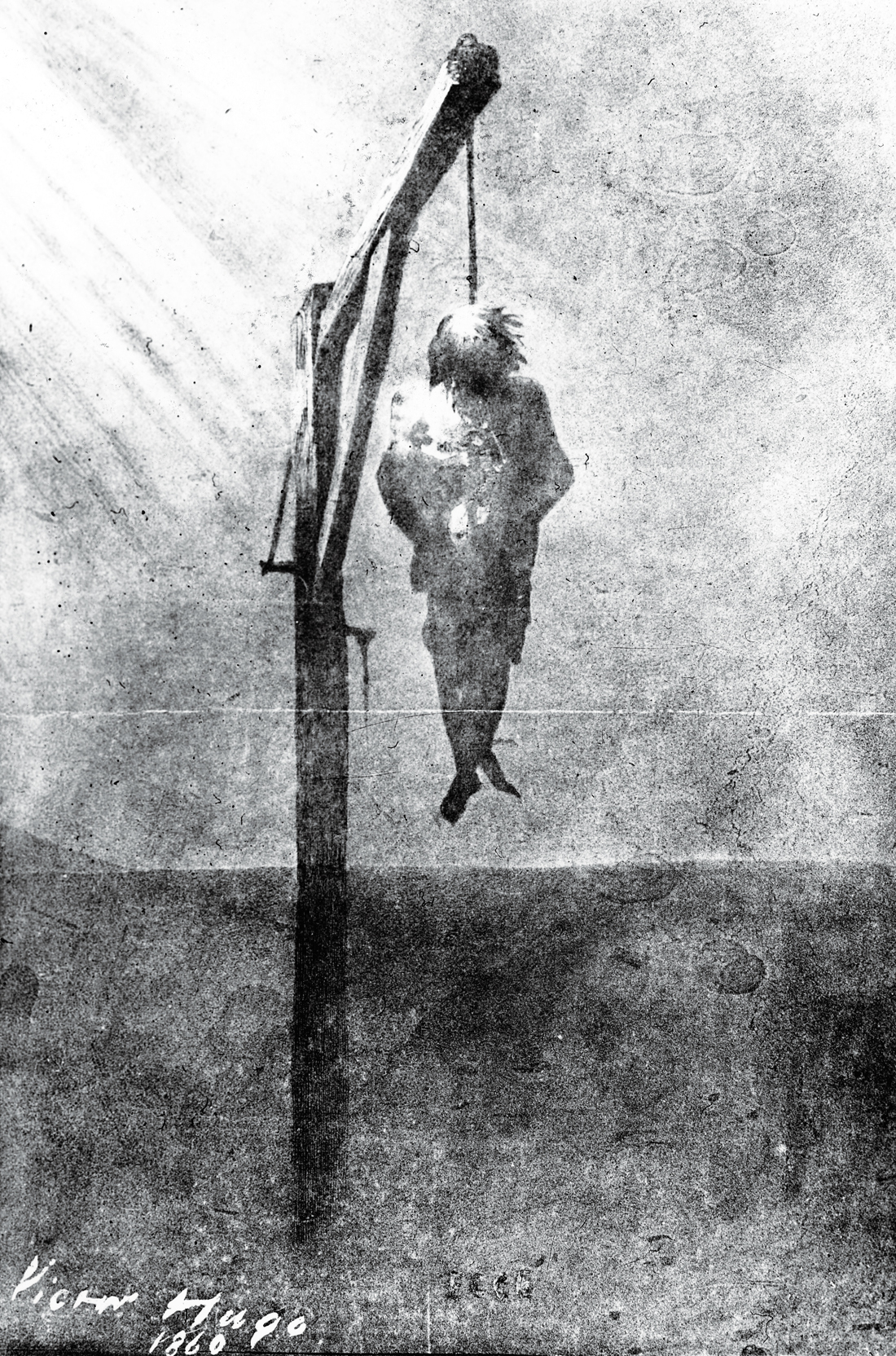 The Hanged Man or John Brown, by Victor Hugo, 1860.