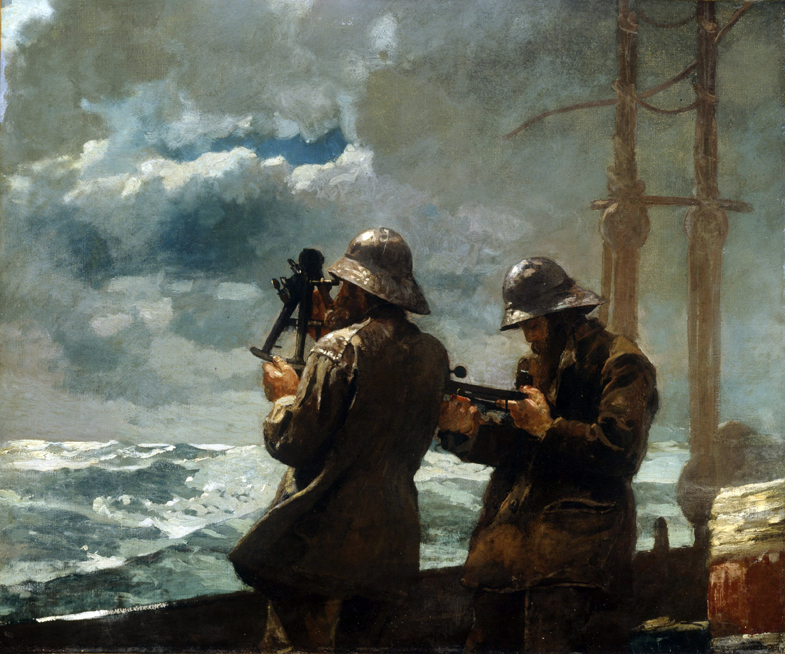 Eight Bells, by Winslow Homer, 1886. Addison Gallery of American Art, Andover, Massachusetts.